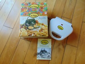BREVILLE PIE MAGIC Twin Pie Maker 8 Minutes Snack Making MACHINE Boxed See Pics