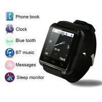 Bluetooth Smart Watch Sleep Monitor Call Camera Pedometer Music Player Stopwatch