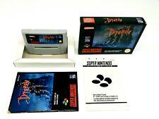 Super Nintendo Bram Stoker`s Dracula Complete [FAH] SNES ►RARE ◄