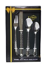 20 Pieces Cutlery Set, Gift Box (Forks, Knives, Spoons)