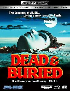 Dead & Buried (Cover A: Poster)(4K Ultra HD)