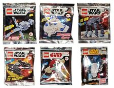 Original LEGO Star Wars limited edition 6 pcs polybag set with minifigure #SW7