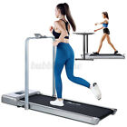 Electric Treadmill Home Office Under Desk Walking Pad Exercise Machine Fitness