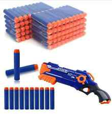 100pcs Toy Refill Gun Darts Blasters for Elite NERF N-Strike Round Head Bullets