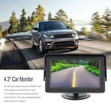 MONITOR 4,3 POLLICI A COLORI 2 INGRESSI VIDEO LCD TFT PER RETROCAMERA AUTO CAMPE