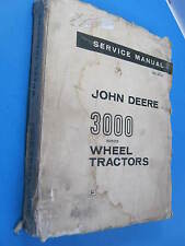 JOHN DEERE 3000 WHEEL LOADER 1961 SERVICE MANUAL  OEM