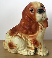 NAPCOWARE Cocker Spaniel Dog Vase Planter Japan C7087