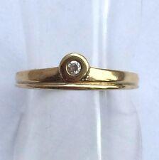 Ring mit Zirkonia  Gold 333 Gelbgold Gr.51 - 16,2 mm