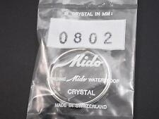 Ref#0802 Genuine Mido Waterproof Vintage Watch Crystal 32mm Outside Diameter NOS