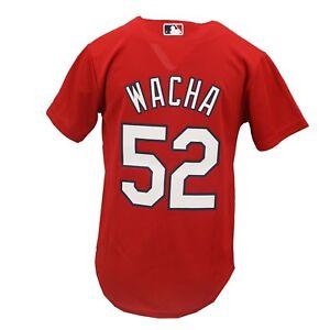St. Louis Cardinals MLB Majestic Cool Base Kids Youth Size Michael Wacha Jersey