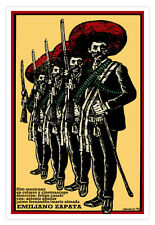 "Movie Poster for Mexican film""Emiliano ZAPATA""History.Mexico Mariachi Home Art"
