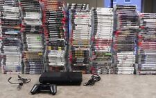 Sony PlayStation 3 250 GB Super Slim Black Console with games   PS3