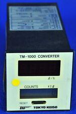 1252 TOKYO KEISO TM-1000 CONVERTER TM-1220-1