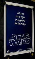 "Original STAR WARS Style B Advance 1 sheet 27"" X 41""  Union Strike Version"