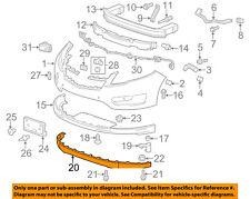 Chevrolet GM OEM 11-15 Volt Front Bumper Grille-Lower Deflector 20993998