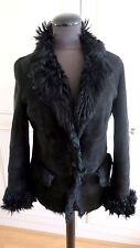 Gucci authentic sheepskin shearling jacket Toscana fur coat IT42 UK10EU36US8