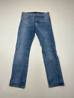 LEVI'S 501 STRAIGHT Jeans - W33 L34 - Blue - Great Condition - Men's