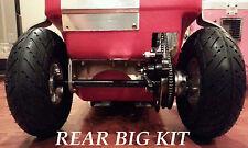 "Cruzin Cooler Scooter ""SUPER BIG KIT"" Rear Tire Conversion kit-Must Read-"