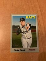 2019 Topps Heritage - Blake Snell - #411 French Text OPC Back Parallel SSP