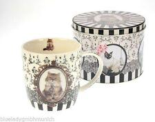 Kaffeetassen & -becher im Vintage -/Retro-Stil aus Porzellan mit Tiermotiven