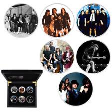 Merry Christmas Metal Coin Rock Band Silver Coin Music Memorabilia Art Crafts