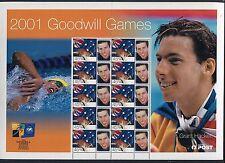 2001 Goodwill Games (Grant Hackett) - Special Events Sheetlet