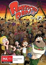 American Dad : Season 12 (DVD, 2017, 3-Disc Set)