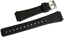 Crepha 19mm KU-27 Genuine Divers Urethane Watch Rubber Strap *Brand New*