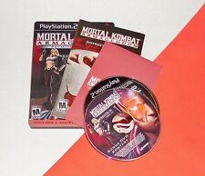 Playstation 2 PS2 --- MORTAL KOMBAT Armageddon Premium Edition --- Complete --AC