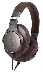 audio-technica HighResolution Dynamic Sealed Headphones Gunmetallic ATH-MSR7B-GM