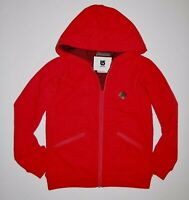 Burton Girls Youth Cranberry Full Zip Fleece Hoodie Size Medium / 8