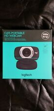 Brand New Logitech 1080p HD Webcam C615 with Fold-and-Go Design *In Hand!