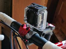 Go Pro Cycle Mount Adapter GoPro Hero 3 3+ 4 5 6 HD Camera Accessories Fun