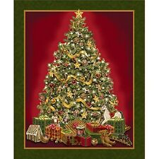 Best Time Of The Year Panel-Decorated Tree-Christmas Presents-Toys