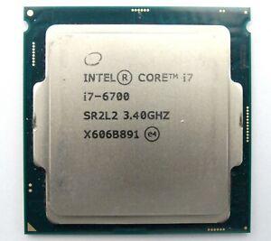 Intel Core i7-6700 Socket LGA 1151 3.4GHz SR2L2 8MB SmartCache CPU Processor