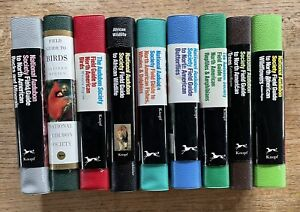 Lot 9 National Audubon Society Field Guides to Nature Books North America  EX