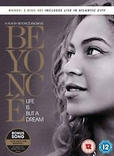 Beyonce - Life Is But A Dream (DVD, 2013, 2-Disc Set) FREE SHIPPING