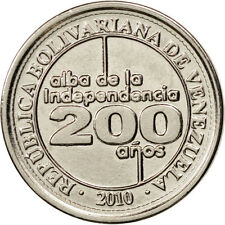 Monnaies, Venezuela, 25 Centimos, 2010, SPL, Nickel plated steel, KM:99 #98362