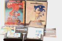 SEGA MEGA DRIVE SONIC THE HEDGEHOG 1 & 2  FOR MEGA DRIVE SYSTEM 1992