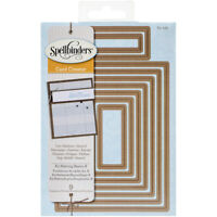 Spellbinders Nestabilities A2 Card Creator Dies-Matting Basics B, S5132