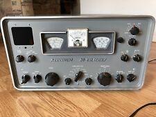 Hammarlund HQ-170 One Seventy Ham Radio Receiver Missing Clock