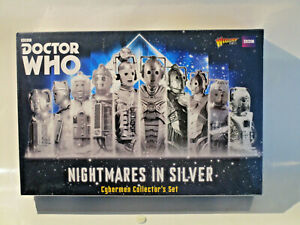 Doctor Who Nightmares in Silver Cybermen Collector´s Set OVP / MIB inkl. Vers D