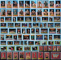 1987 Topps WWF WWE Wrestling Sticker And Trading Cards Complete Your Set U Pick