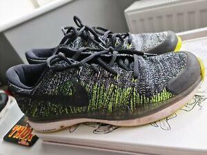 Mens Nike Zoom Vapor Flyknit HC size UK 9 Federer  used tennis
