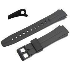 Watch Strap 17mm Resin 573EJ1 fits Casio W-E11