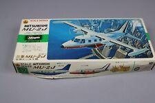 ZF147 Hasegawa 1/72 maquette avion D7 D007:500 mitsubishi MU-2J twin turboprop