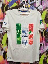 Italy National Football Team Soccer Fan Jersey Shirt Top Puma Mens size M