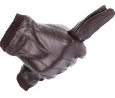 Gloves For Men Winter Mittens Made Of Sheepskin with Touch Screen Function