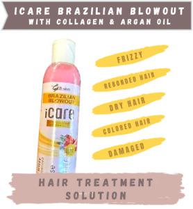 iCare Brazilian Blowout Treatment With  Collagen, Argan Oil Intense Shine hair