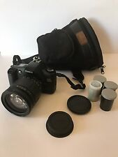 CANON EOS REBEL G 35MM CAMERA with 28-200mm Tamron Lens 1:3.8-5.6